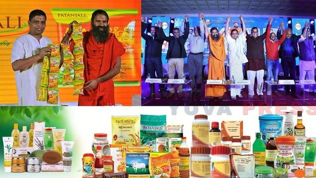 Baba Ramdev led Patanjali Ayurved goes online. Partnership with 8 E-Commerce companies. Hindustan Unilever Ltd(HUL), Amazon, Grofers