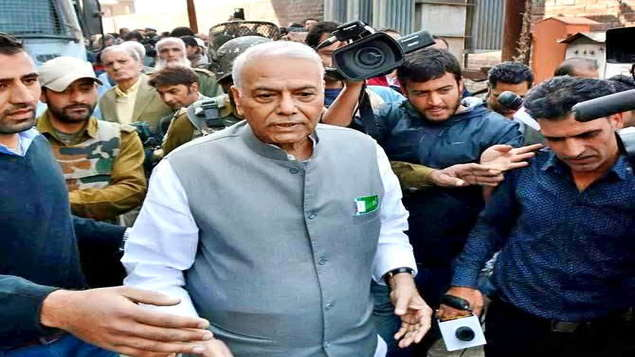 Senior BJP leader Yashwant Sinha launches Rashtriya Manch. Leaders from different parties came together.