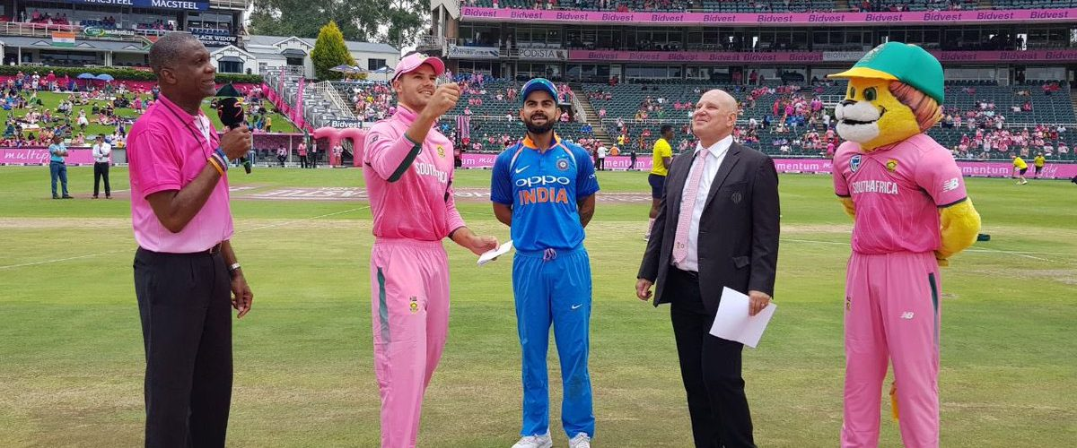 India VS South Africa 4th ODI live