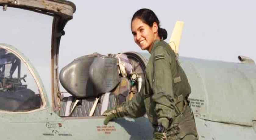 Flying officer Avni Chaturvedi
