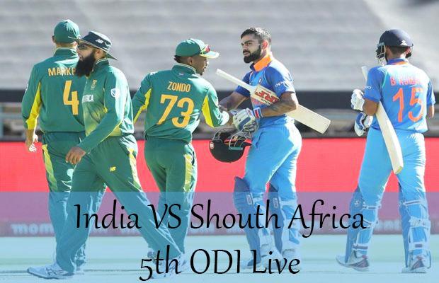 5th ODI Ind vs Sa