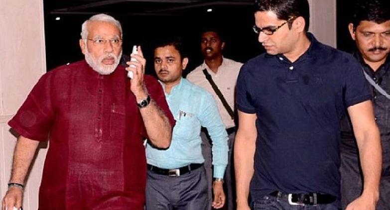 Prashant Kishor and Narendra Modi