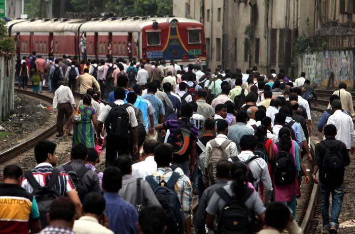 Mumbai train strike today