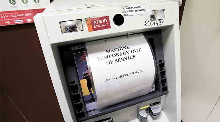 ATM Machines - No Cash