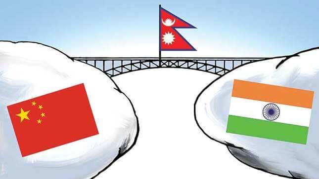 भारत-नेपाल-चीन