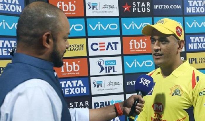 csk के कप्तान महेंद्र सिंह धोनी को मैन ऑफ द मैच मिला