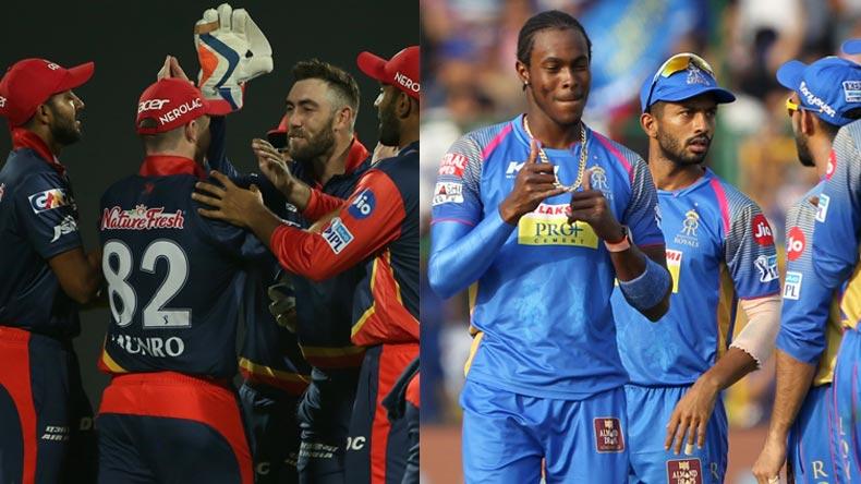 DD vs RR - IPL 2018