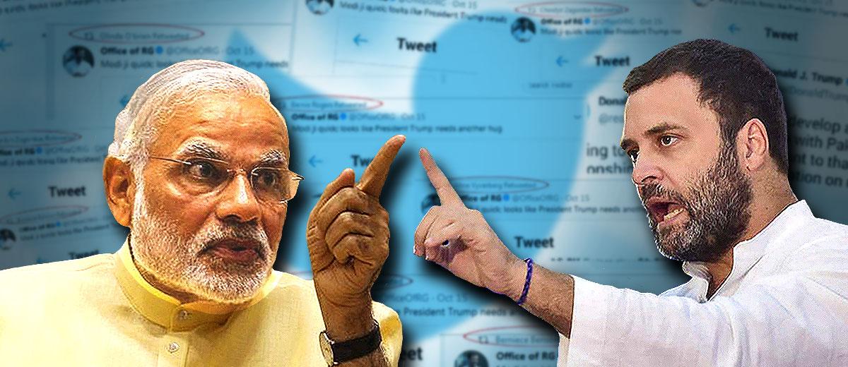प्रधानमंत्री नरेन्द्र मोदी और कांग्रेस अध्यक्ष राहुल गांधी। (फाइल चित्र)
